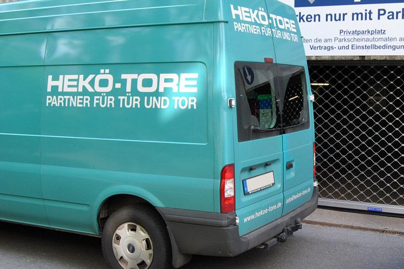 Rollgittertor von HEKÖ-Tore