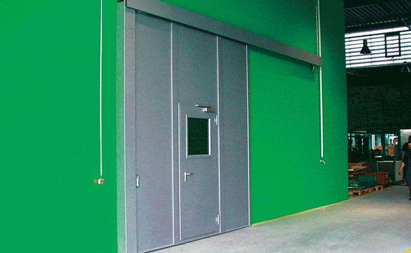 Feuerschutztüren und Stahltüren von HEKÖ-Tore